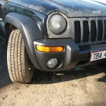 Покраска Jeep Liberty RAPTOR