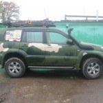 Покраска в камуфляж Toyota Land Cruiser Prado 120