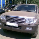 Передний силовой бампер -Toyota Land Cruiser 105